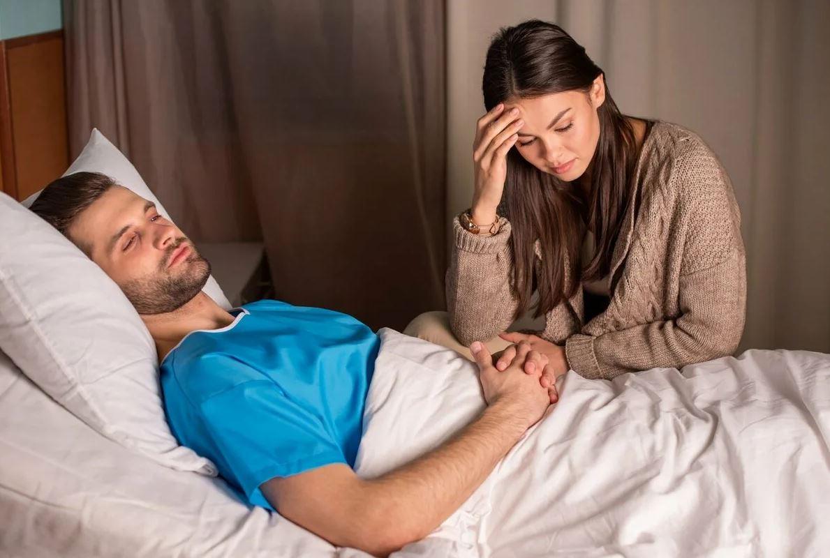 Больной муж – проблема жены: золовка летит в отпуск на море, а свекровь едет на дачу поливать огурцы
