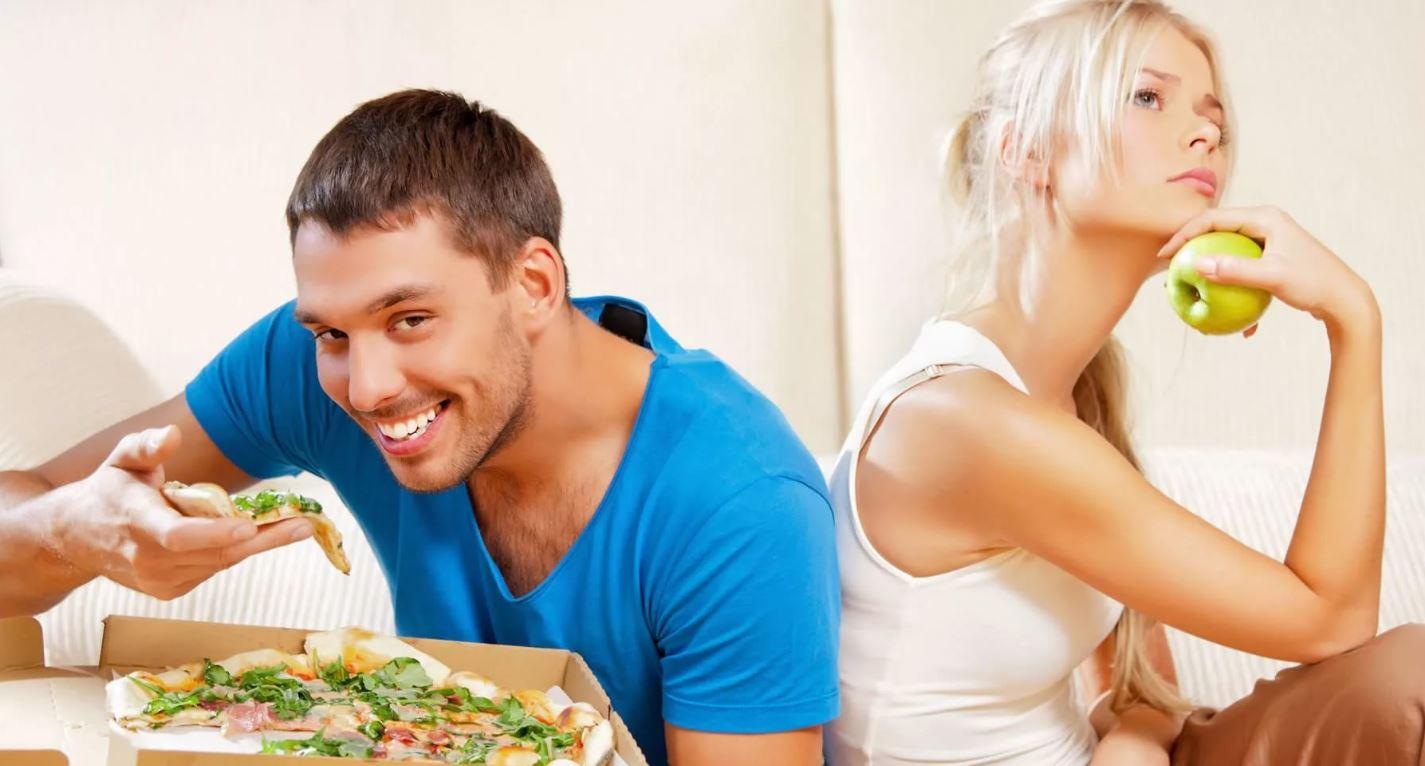 Живут в браке, но питаются отдельно: жене готовить лень