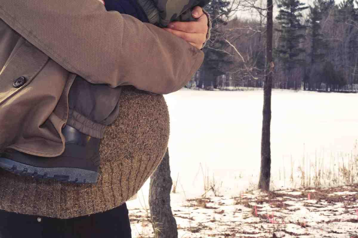 Нормальный муж на восьмом месяце жены на рыбалку не поедет