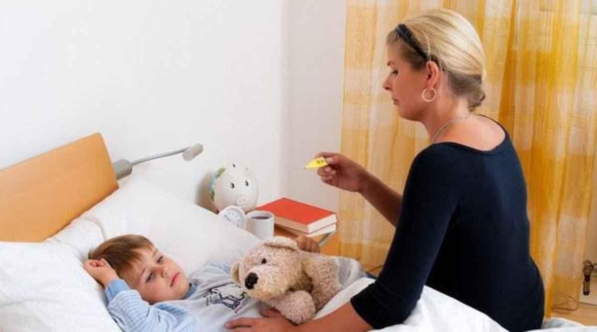 Ребенок болеет, а папа на празднике?